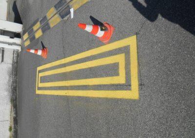 Marquage au sol - Publicité Décor - Pose d'enseignes, signalétique, totems, adhésifs sur véhicules